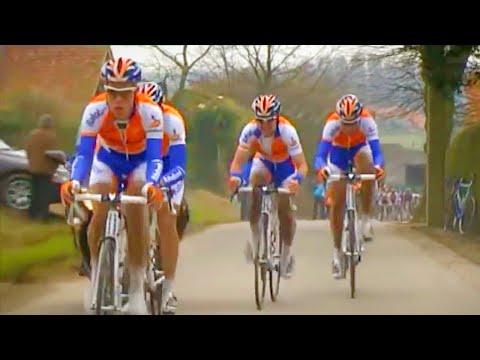 How Did Rabobank LOSE This Race?! Four Man Breakaway at Omloop Het Nieuwsblad 2009