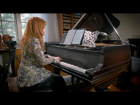 Fanny Mendelssohn -  Song for Piano, Op. 8, No. 1 (Sarah Cahill, piano)