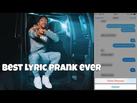 YOUNG BOY NEVER BROKE AGAIN GENIE (LYRIC PRANK) On Girlfriend *HILARIOUS* CRAZY REACTION  | Kevvo