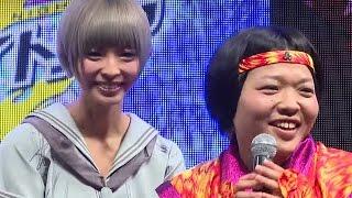 おかずクラブ・オカリナ、でんぱ組・最上もがに「似てるって言われる」「東京ゲームショウ2015」フジアンドグミゲームズ #Moga Mogami #Japanese Idol