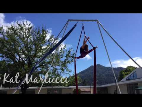 Outdoor Aerial Silks