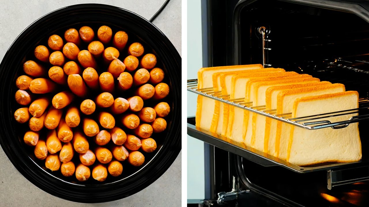 34 SMART PARTY-SIZE SNACK IDEAS