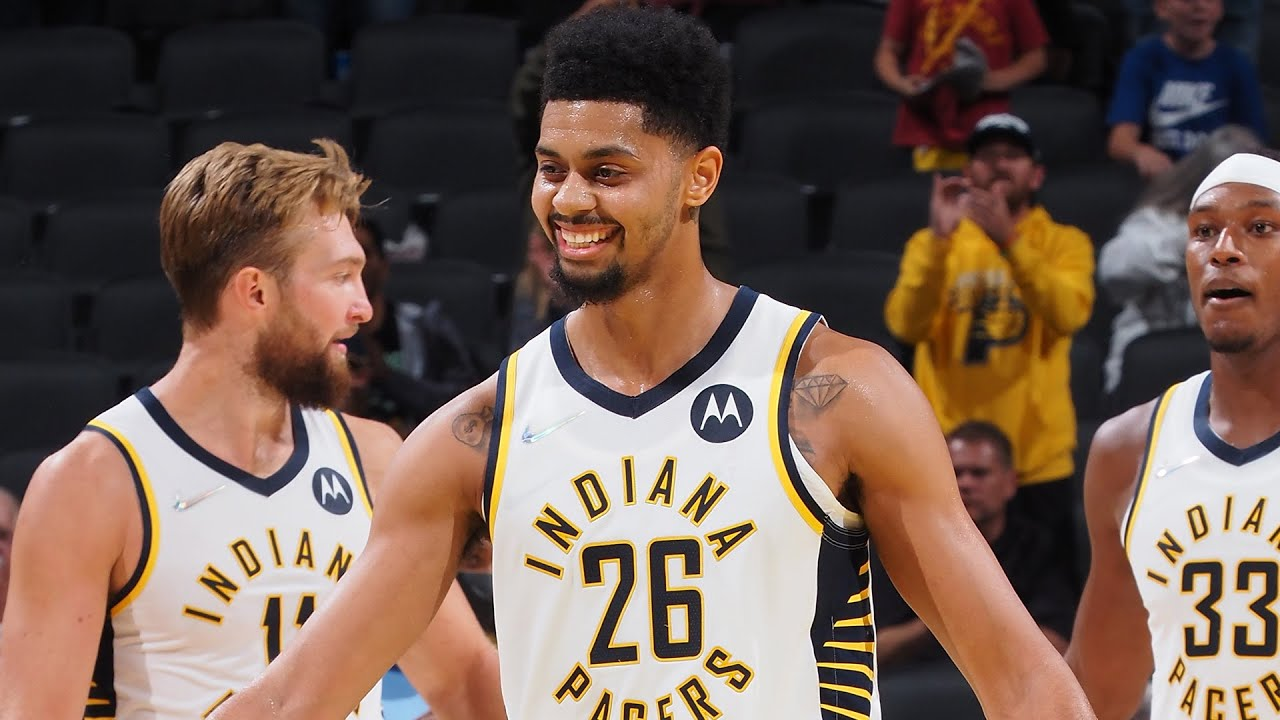 Jeremy Lamb COLD Game-Winner & Entire Pacers Team Goes Crazy! 🧊