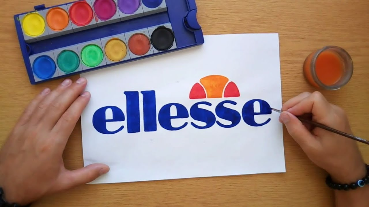 How To Draw The Ellesse Logo Come Disegnare Il Logo Di Ellesse