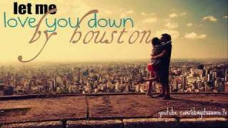 love you down by houston. ♥