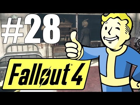 Fallout 4 Lets Play - Part 28 - CABOT FAMILY SECRETS! (and Alien Devices!?) (Survival Mode)