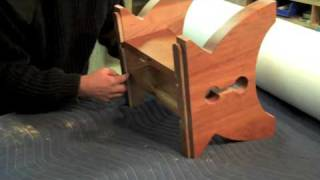 Ottoman Assembly By Inventor, Douglas Green
