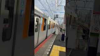 川越市駅東武50000系発車シーン