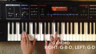 Oceans- Hillsong United (PIANO Tutorial)