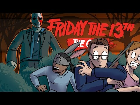WELCOME TO THE ONSLAUGHT!! - Friday the 13th Gameplay Funny Moments