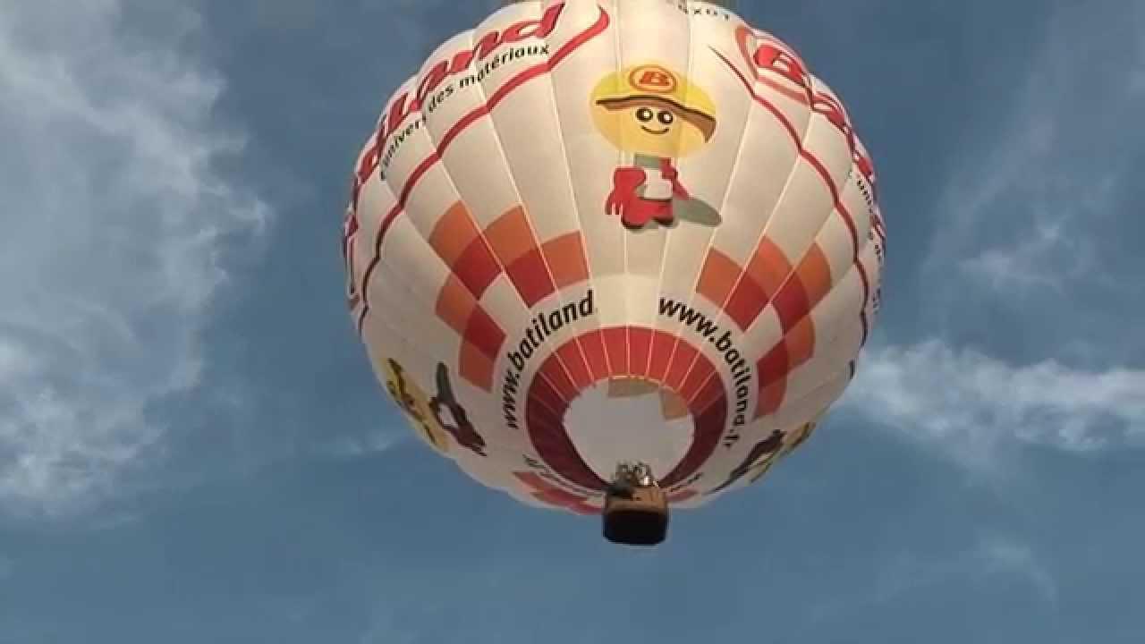 montgolfiere decollage