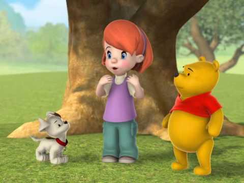 Winnie l 39 ourson chanson darby veut une queue youtube for Piscine winnie l ourson