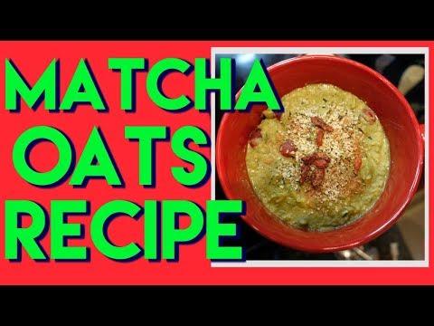 Matcha berry oats recipe| Dr Dray