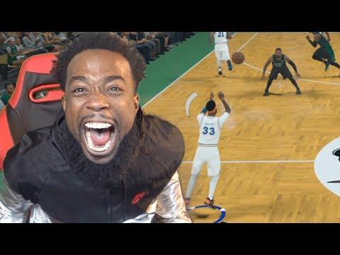 FULL COURT BUZZER BEATER ON KYRIE IRVING! NBA 2K18 MYCAREER