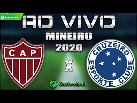 Patrocinense x Cruzeiro Ao Vivo | Mineiro 2020 | 6ª Rodada | Narração