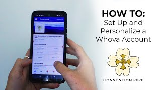 HOW TO: Personalize a Whova Account