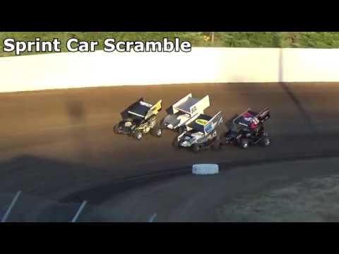 Grays Harbor Raceway, July 7, 2018, 360 Sprint Car Scramble