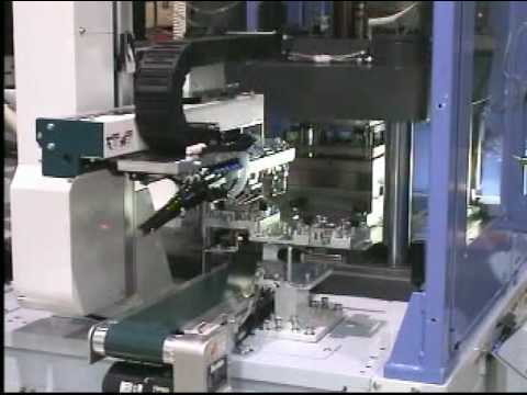 Yushin SVR-B50 Take-out Robot for Vertical Molding Machines