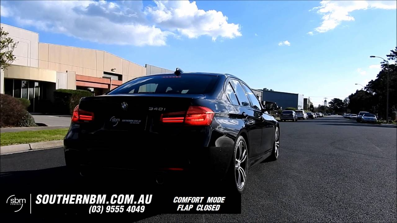 bmw m performance power sound kit f30 lci 340i youtube. Black Bedroom Furniture Sets. Home Design Ideas