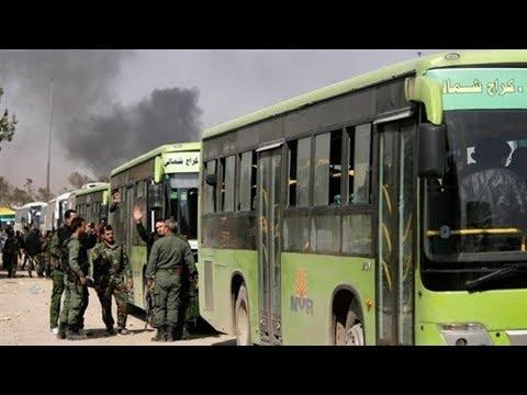 اتصال هاتفي : وصول قوافل أهالي القلمون إلى شمال سوريا  - نشر قبل 3 ساعة