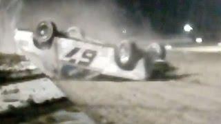 Keller Auto Speedway | IMCA Stock Car Flip