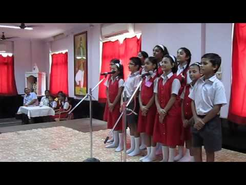 Udhalita shata kirana. marathi petriotic song by students of VIDYANIDHI HIGH SCHOOL,JUHU,MUMBAI