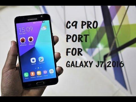 C9 Pro Full Port For Galaxy J7 2016