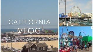 California Vlog | Santa Monica Pier