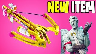 "New ""CROSSBOW"" Weapon in FORTNITE + HUGE VALENTINES UPDATE (Patch Notes) 