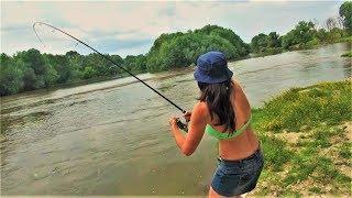BEST FISHING in the world: catfish, pike, asp, zander. Bulgaria p.1