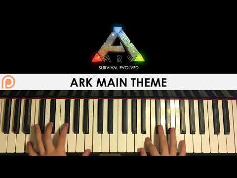 ARK Survival Evolved - Main Theme Music (Piano Cover) | Patreon Dedication #172
