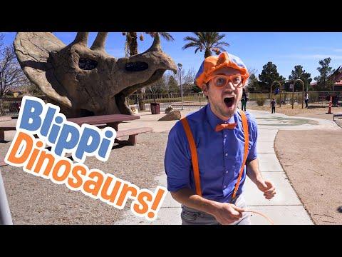 Blippi Visits Dinosaur