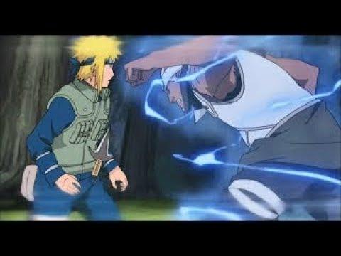 Yellow Flash Minato vs Raikage and Killer Bee!