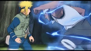 Yellow Flash Minato vs Raikage and Killer Bee!
