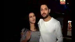 Anurag and Meghla of serial 'Icchenodi' celebrating Diwali in in between shooting break