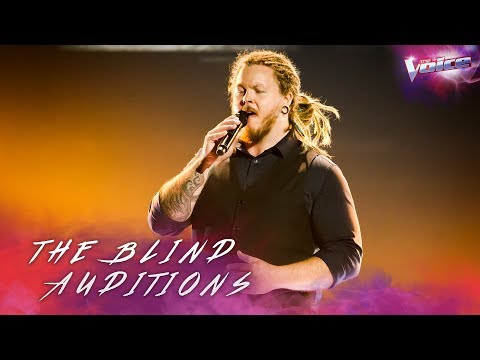 Blind Audition: Jake Daulby sings Way Down We Go | The Voice Australia 2018
