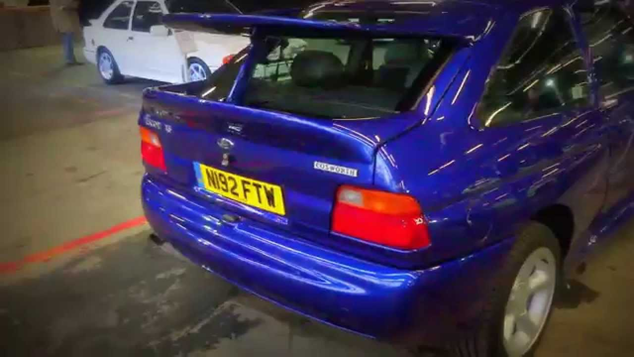 2015 focus rs reveal 1995 ford escort rs cosworth short clip