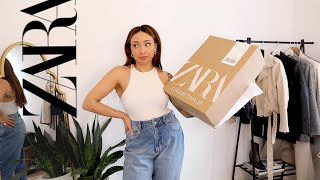 How about a little ZARA unboxing + Try on?