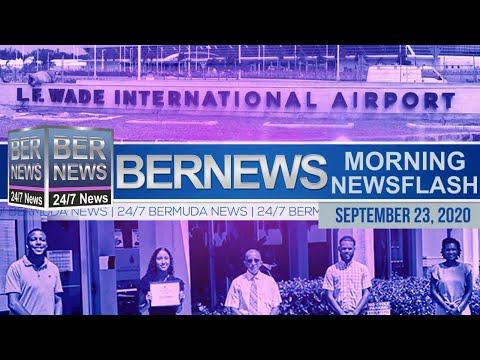 Bermuda Newsflash For Wednesday, Sept 23, 2020