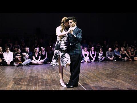 Tango: Marisa van Andel y S. Achaval, 26/04/2015, Brussels Tango Festival, Random couples #5/5