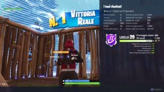 my first solo win