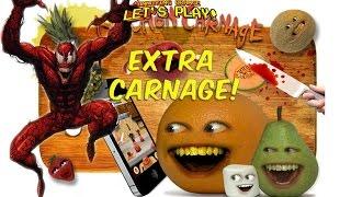 Annoying Orange Let's Play - KITCHEN CARNAGE: Extra Carnage!