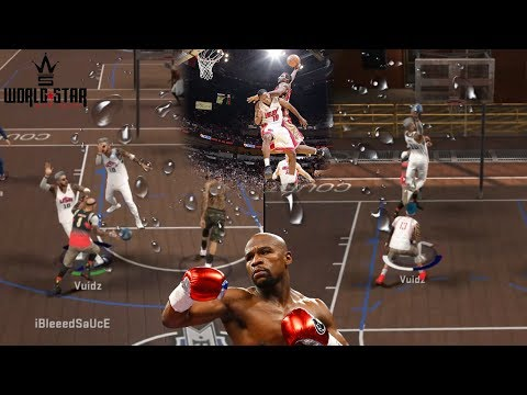 I GOT THIS CONTACT DUNK AFTER HE PUNCHED ME!!!   NBA 2K17 MyPark