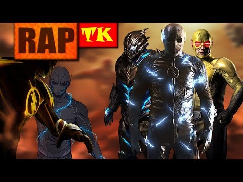 Rap dos Velocistas #2 (Zoom, Reverso e Savitar) // Feat. Yuri Black e Takeru // TK RAPS