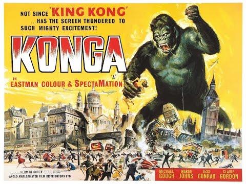 Konga(1961) | Rant & Movie Review(KONGA KRAP!)