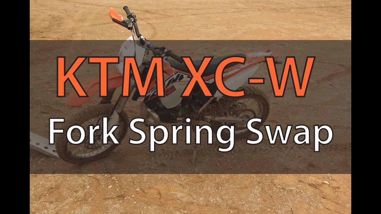 Change  Ktm Fork Springs