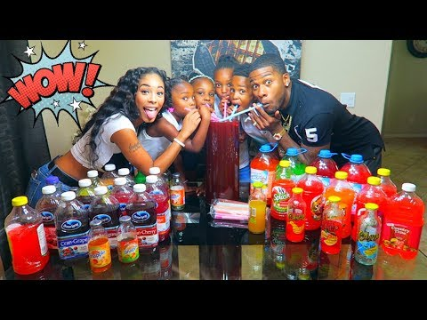 Thumbnail: Extreme Juice Mixing Challenge Family Edition