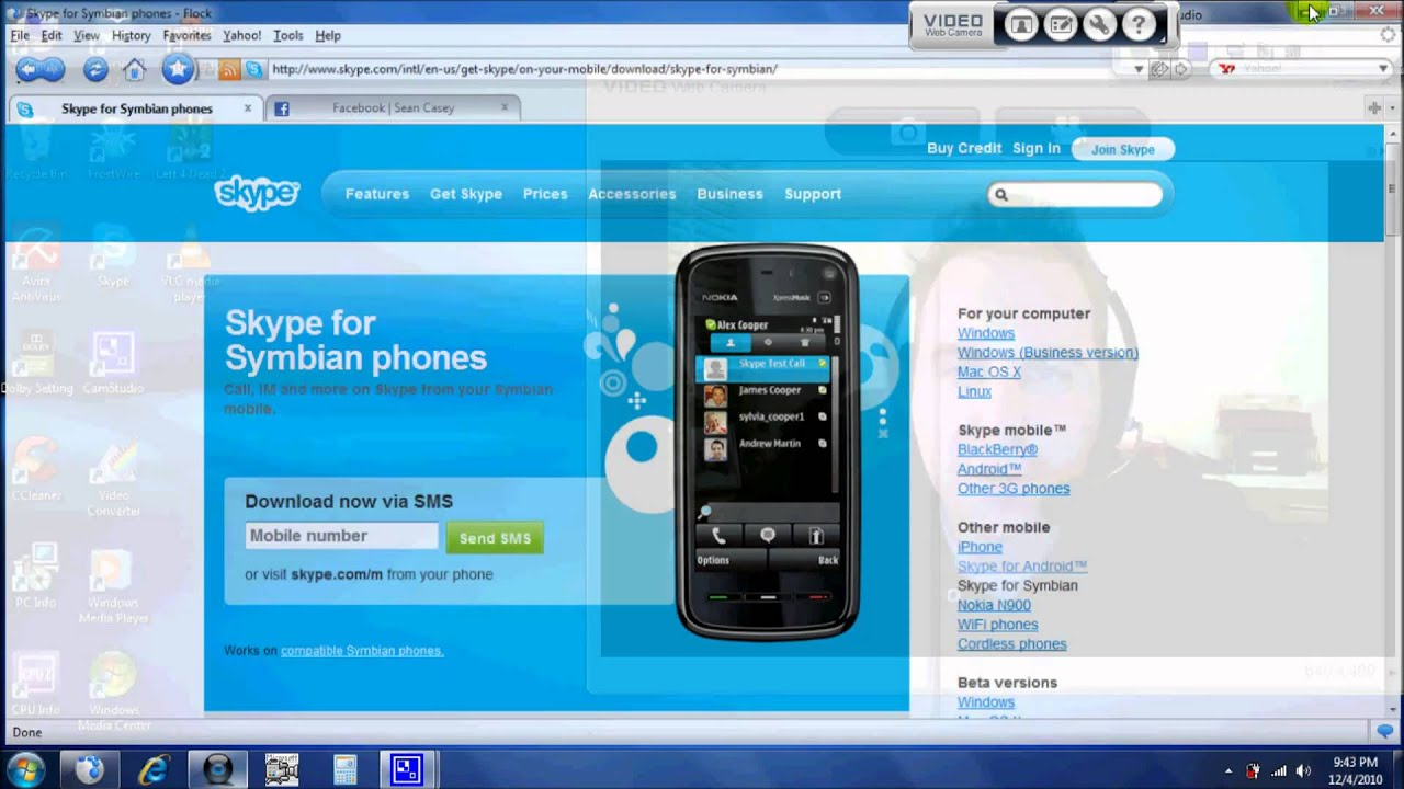 Symbian freeware select your device