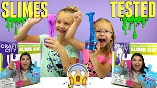 Video Testing KARINA GARCIA'S DIY SLIME KIT! - Slushie Slime, Bubble Wrap Slime, Glow in the Dark & More! download MP3, 3GP, MP4, WEBM, AVI, FLV November 2017
