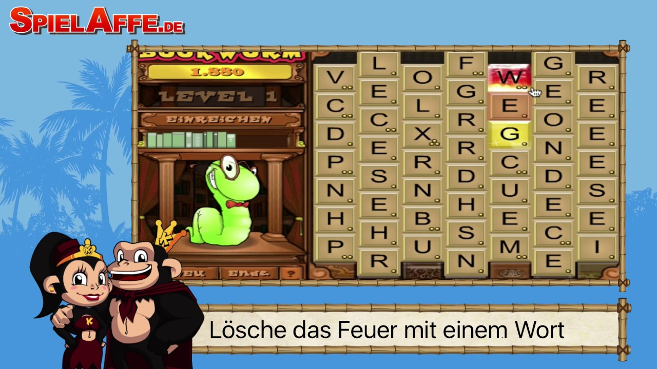 Bookworm Trailer Tipps Und Tricks Spielaffede Youtube